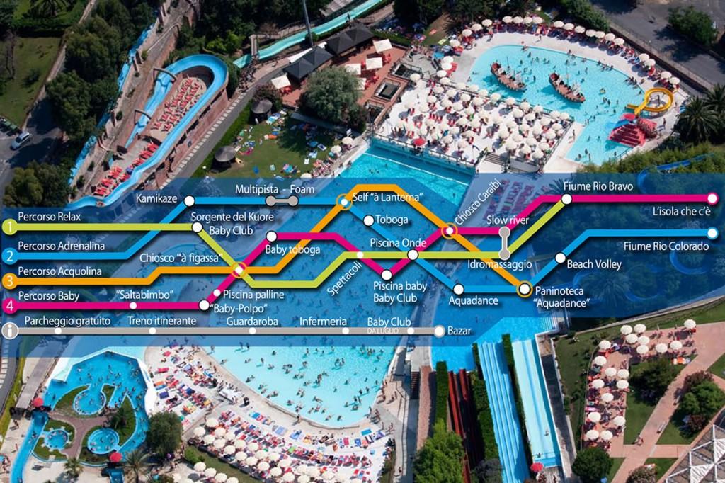 Parco acquatico le caravelle agenzia immobiliare la for Caravelle piscine